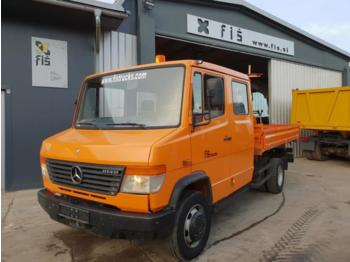 Mercedes Benz 814 D double cab + tipper - Kipper transporter