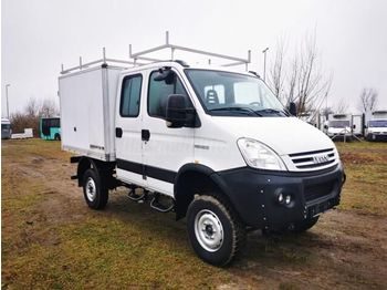 IVECO DAILY 55 S 18 4x4 DOKA Koffer - Koffer Transporter
