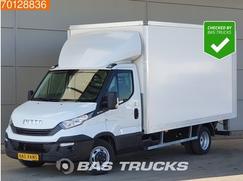 Koffer Transporter Iveco Daily 35C16 Dubbellucht Laadklep Bakwagen Euro6 Airco 19m3 A/C Cruise control
