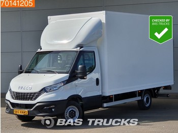 Koffer Transporter Iveco Daily 35S18 3.0 180PK Automaat Bakwagen Laadklep Zijdeur Airco Cruise 21m3 A/C Cruise control