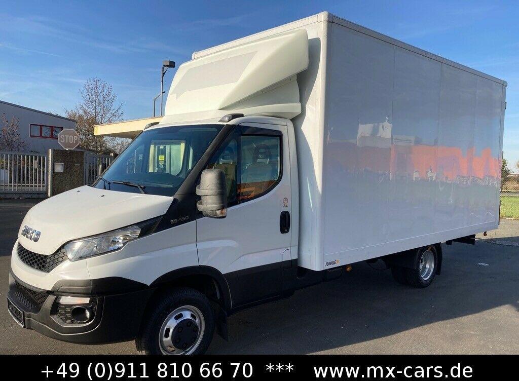 Koffer Transporter Iveco Daily 35c15 3.0L Möbel Koffer Maxi 4,73 m. 25 m³