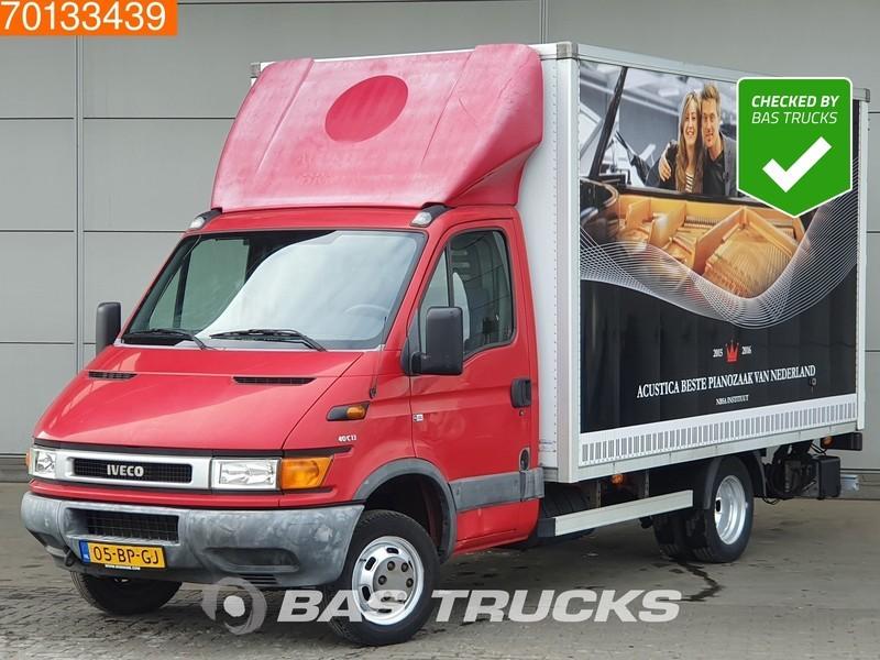 Koffer Transporter Iveco Daily 40C13 Bakwagen Laadklep Koffer LBW 18m3