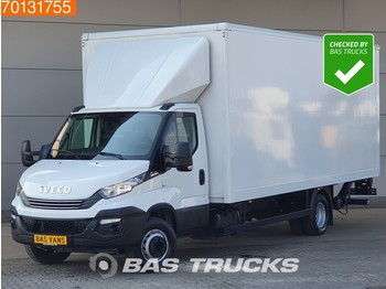 Koffer Transporter Iveco Daily 70C18 Euro6 Automaat Bakwagen Laadklep Koffer LBW Luchtvering A/C Cruise control