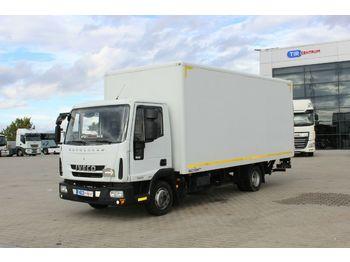 Koffer Transporter Iveco EUROCARGO 75E18, EURO 5 EEV, HYDRAULIC LIFT