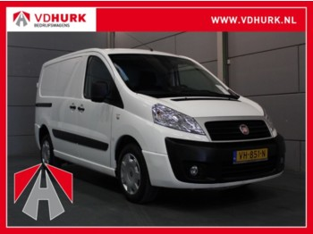 Koffer transporter Fiat Scudo 2.0 128 pk SX Airco/Cruise/PDC/Trekhaak
