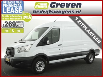 Ford Transit 350 2.2 TDCI L3H2 Ambiente 3 Persoons Radio/USB/Aux/Bluetooth Elektrischpakket - Koffer transporter