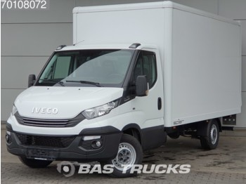 Koffer transporter Iveco Daily 35S14 140pk E6 Bakwagen Laadklep Luchtvering Camera 18m3 A/C Cruise control