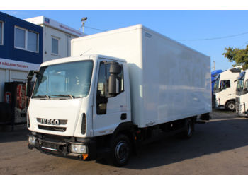 Koffer transporter Iveco IVECO 75E 18 EUROCARGO, HYDRAULIC LIFT,EURO 5EEV