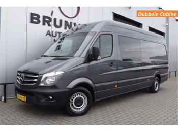 Koffer transporter Mercedes-Benz Sprinter 316 CDI 163pk L3H2, Dubbele Cabine, Navi, Cruise, Airco, wb432, DC