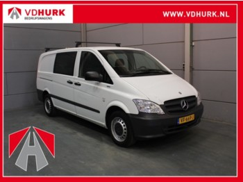 Koffer transporter Mercedes-Benz Vito 110 CDI DC Dubbel Cabine L2H1 Airco/Trekhaak/Dakdragers