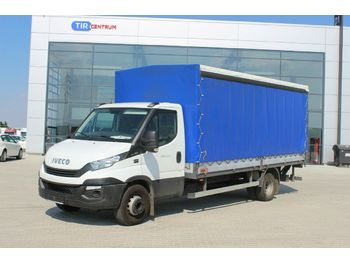 Transporter mit Plane Iveco DAILY 60C15 , HYDRAULIC LIFT
