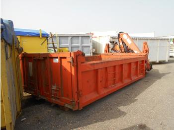 Abrollcontainer Forez benne ampliroll + grue