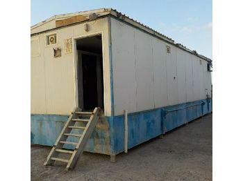 36ft x 10ft VIP Large Ablution Washroom Block - Container