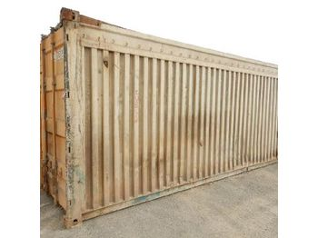 LOT # 0649 -- 20ft Workshop Container c/w Kelly Spare Parts - Container