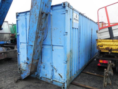 Seecontainer Lagercontainer Materialcontainer Baucontainer 6 m 20Fuß ...