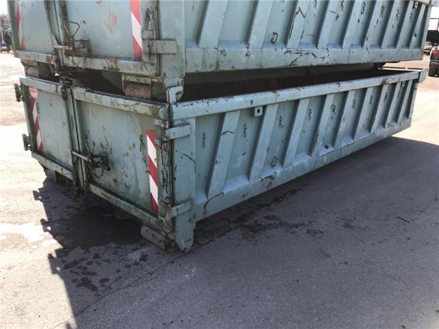 Etwas Neues genug Abrollcontainer 88 AS 27 Hakenlift/ Absetzkipper System gebraucht &MH_36