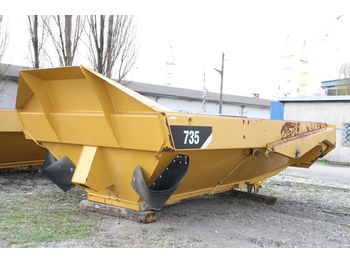 CATERPILLAR KIPPER TIPPER BODY DUMPER CATERPILLAR CAT 735 FLAP DOOR - Kippaufbau