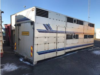 Kofferaufbau  SKÅP Djurtransport