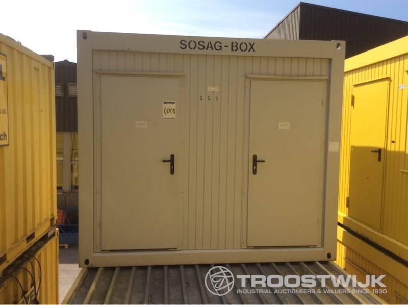 Wohncontainer gebraucht kaufen, Preis 300 EUR, bei Truck1 - 3650776