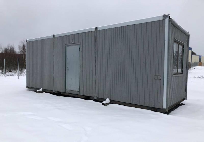 Kontorsbod 2 rum Wohncontainer gebraucht kaufen, bei Truck1 ...